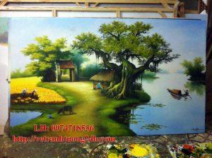 Tranh sơn dầu MS03