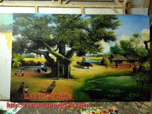 Tranh sơn dầu MS04