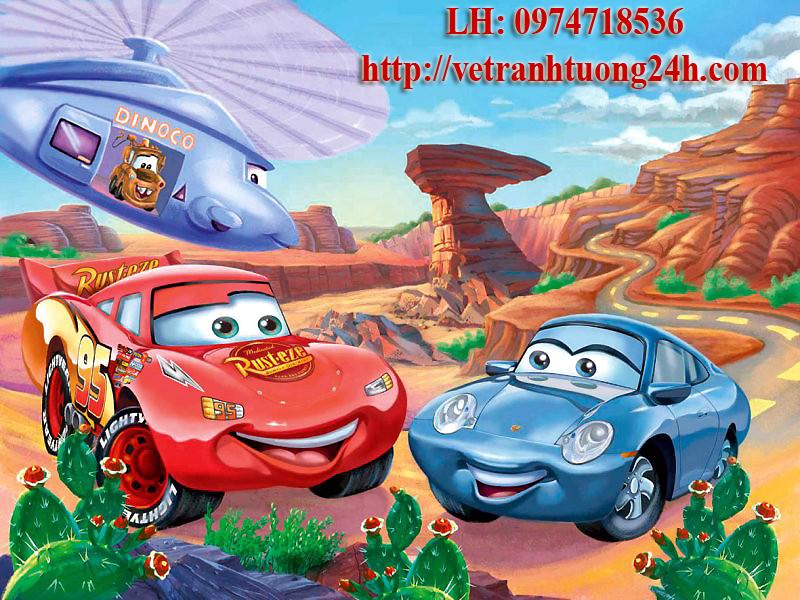 Disney Pixar Cars - Wallpaper-10