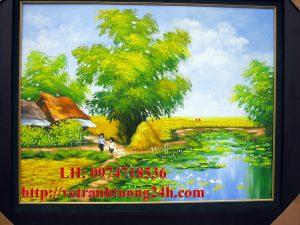 Tranh sơn dầu MS06
