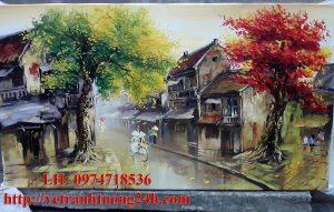 Tranh sơn dầu MS08