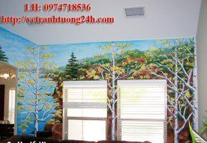 Mẫu tranh tường phòng bé MS05