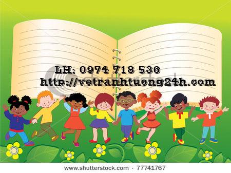 stock-vector-happy-children-children-frame-place-for-your-text-vector-art-illustration-77741767