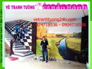 Tranh tường cafe 103 Hà Đông, Hà Nội