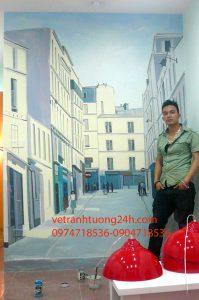 Tranh 3d số 86 Thái Thịnh – Hà Nội