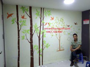 Tranh tường công ty CRESYN ĐÔNG THỌ YÊN PHONG BẮC NINH