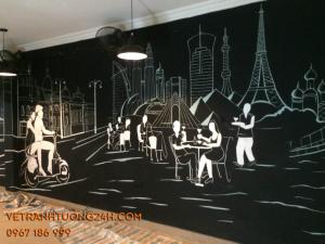 Tranh tường nhà hàng đẹp
